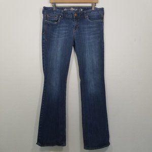 Express Stella Regular Fit Low Rise Boot Cut Jeans